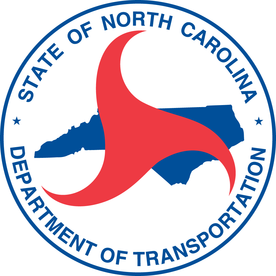 State of North Carolina Department of Transportation. Logo.